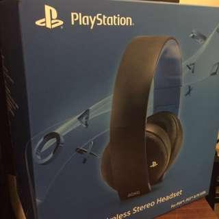 PS4 遠端無線高音質耳機Wireless Sterror Headset