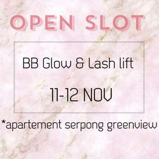 BB GLOW & LASH LIFT