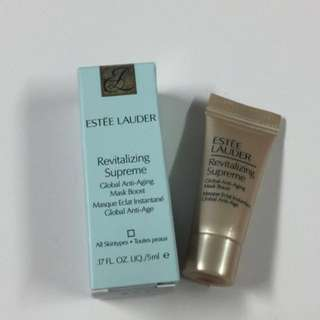 《包郵》全新Estee Lauder Revitalizing Supreme Global Anti-Aging Mask Boost 5ml