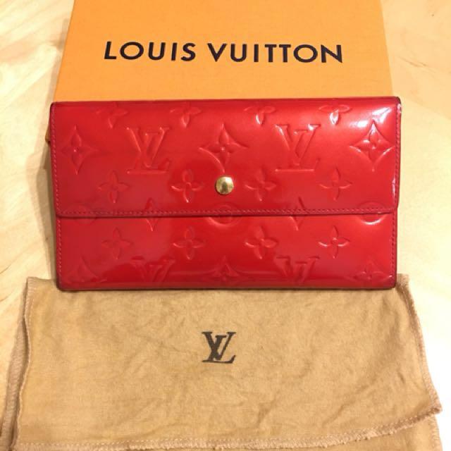 雙11優惠價 LV紅色信封包