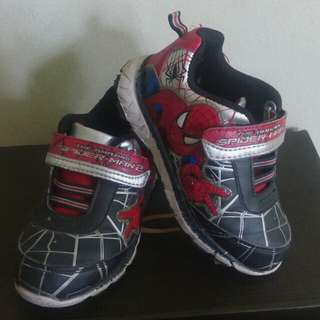 Spiderman Rubbershoes for Kids