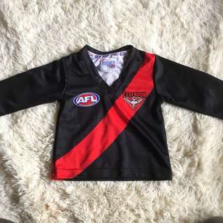 Official afl bombers jersey