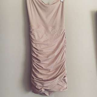 KOOKAI NUDE BODY CON DRESS