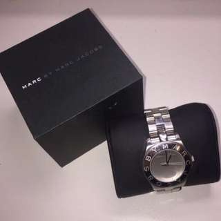 AUTHENTIC STAINLESS STEEL MARC JACOBS WATCH