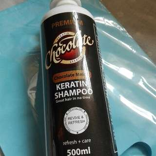 Chocolate Keratin Shampoo