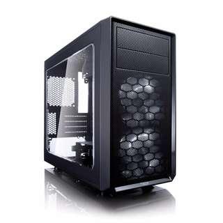 Fractal Design Focus G Mini Black (µATX enclosure, FD-CA-FOCUS-MINI-BK-W)