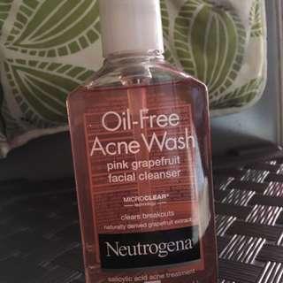 🍒Authentic✅ NEUTROGENA ACNE WASH OIL FREE