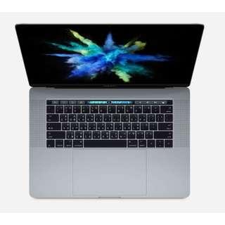 """便宜出清,全新未拆封 Macbook Pro 15"""" TouchBar 256G 太空灰 2017  』,"""