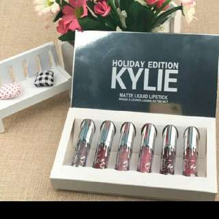Kylie Holiday Edition 6pcs