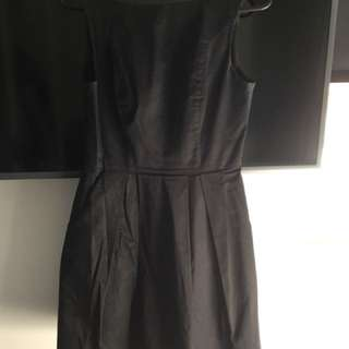 Cue black dress size 8