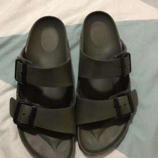 Khaki Birkenstock Sandals