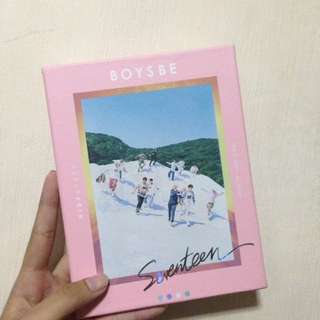 BOYSBE: SEVENTEEN 2ND MINI ALBUM (HIDE VERSION)