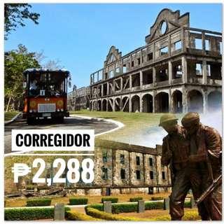 CORREGIDOR HISTORICAL WALKING TOUR (Thu, Fri, Sat, Sun)