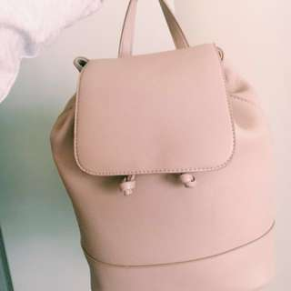 Pull & Bear Mauve Backpack