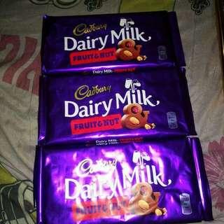 Cadbury fruitand nut