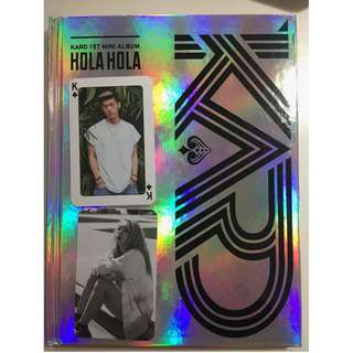 WTT Kard Hola Hola 1st mini album photocard