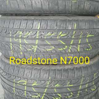 2nd Hand Tyre 195/55/15 x4pcs