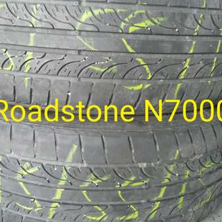 2nd Hand Tyre 195/55/15 x2pcs