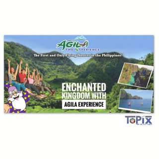 ENCHANTED KINGDOM WITH AGILA EXPERIENCE