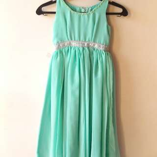 Chiffon Long Gown for Toddlers (Pre-loved)