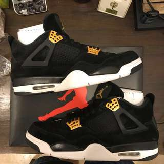 Authentic Air Jordan IV Royalty (Selling fast)