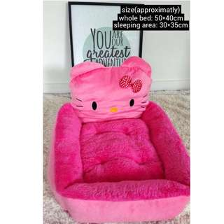 Hello Kitty hot pink pet bed (Cats and puppies)