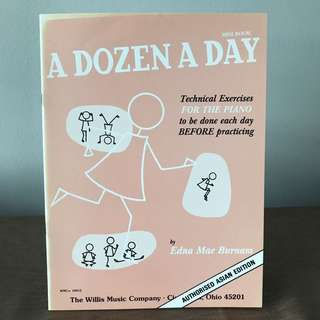 Piano book - A dozen a day 2