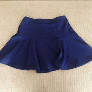 Forever 21 Navy Blue Skirt