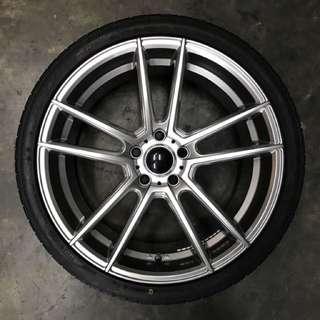 """19"""" New Tyre & Rim"""
