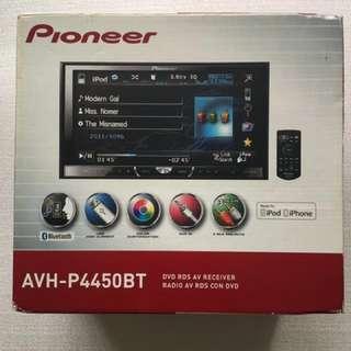 "Pioneer Double Sin 7"" Screen Radio AVH-P4450BT"