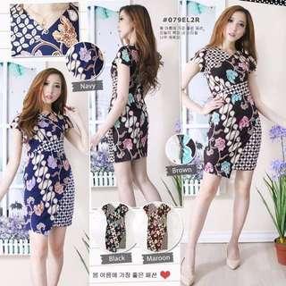 Dress batik Priscilia