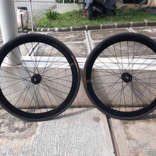 Wheelset H+Son EERO & S1X Hub & LDG Cog & Eightinch Lockring