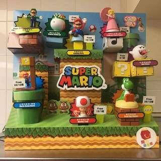 Super Mario 孖寶兄弟 玩具 開心樂園 麥當奴