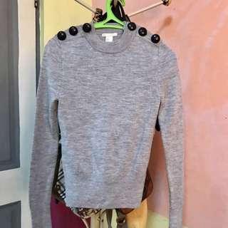 H&M wool sweatshirt fits small up to medium frame like new