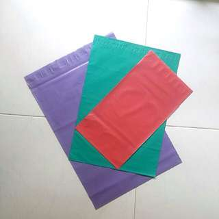 Coloured Poly mailers 10pcs sample pack