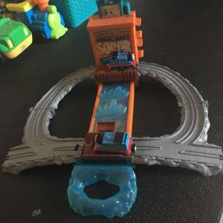 Thomas the Tank Engine Splash down track