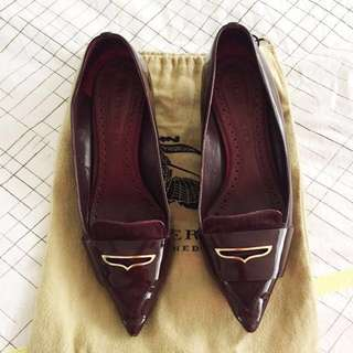 Burberry Shoes Kitty Heel