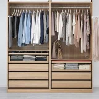 4 bedroom cupboards