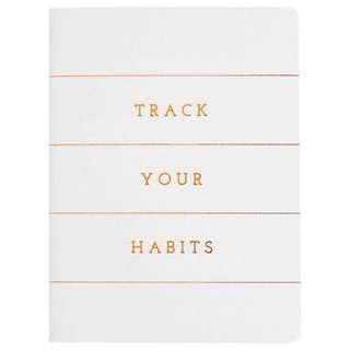kikki K. Track Your Habits Inspiration Notebook A7