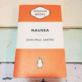 Nausea by Jean-Paul Sartre (Penguin Books)