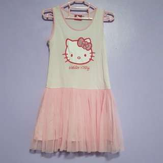 Hello Kitty tulle dress