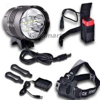 CREE XM-L XML 5 T6 7000lm Headlight Headlamp Bicycle Light Lamp LED 8.4V 3 modes SL-8205