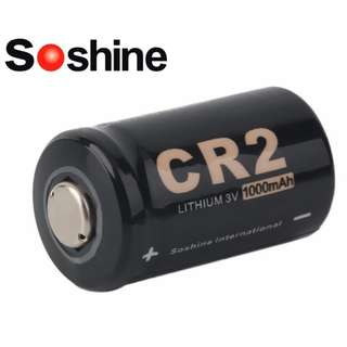 Soshine CR2 1000mAh 3V Rechargeable Lithium Battery 充電池 鋰電池 ( LC 15266 ) - 原裝正貨
