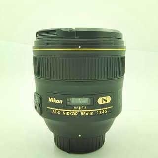 Nikon AF-S 85mm F1.4G NANO