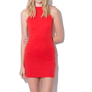 Universal store red bodycon dress