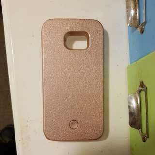 Baby Pink S7 edge light case