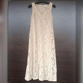 Prada Lace Sleevless Dress