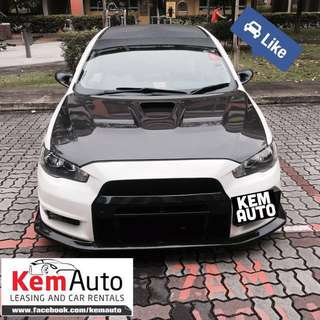 Weekend sports & MPV car Rental available now @ Kem Auto