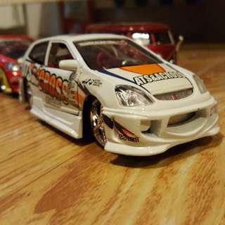 Diecast Honda Civic R Skala 1 : 32