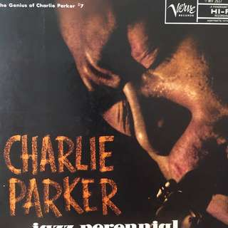 Charlie Parker Jazz Perennial on Verve Records